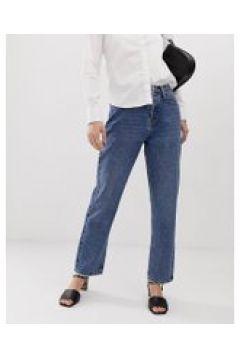 Tomorrow - Jeans dritti in cotone biologico-Blu(112835301)