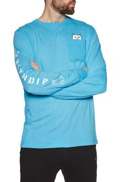 Rip N Dip Lord Nermal Langarm-T-Shirt - Blue(108484996)