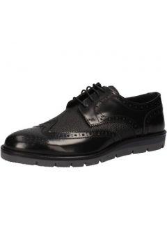 Chaussures J Breitlin élégantes noir cuir brillant AD15(115394060)