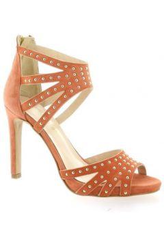 Sandales Fremilu Nu pieds cuir velours(127908136)