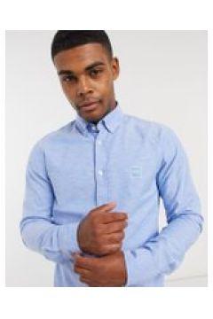 BOSS - Mabsoot - Camicia slim menta azzurro-Blu(120255816)