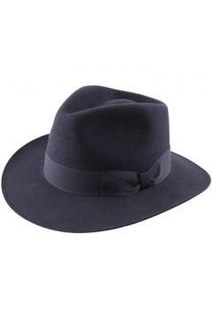 Chapeau Classic Italy Chapeau feutre imperméable Heritage Fedora bleu(88563713)