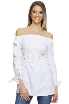 Missguided Beyaz Elbise(113955507)
