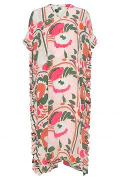 Luovia Karuselli Dress Kleid Knielang Bunt/gemustert MARIMEKKO(117082532)