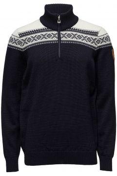 Cortina Merino Masc Sweater Knitwear Half Zip Jumpers Blau DALE OF NORWAY(114156855)