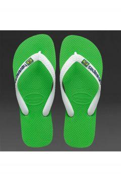 Havaianas Brasil Logo Green Neon(118439521)