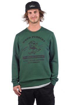 Blue Tomato Wood Pushers Sweater groen(90500728)