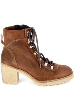 Bottines Porronet Boots Alas Lacet Marron(127987829)