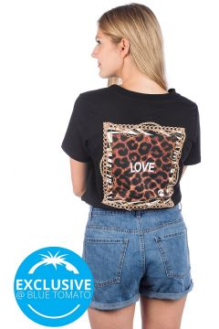 Love Square G Money Love T-Shirt zwart(91225958)