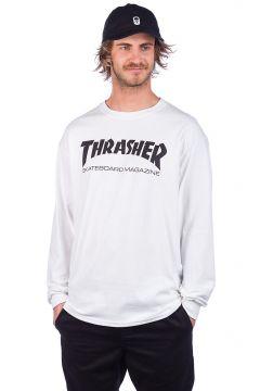 Thrasher Skate-Mag Long Sleeve T-Shirt wit(85178211)