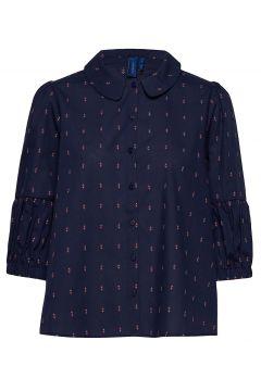Saga Shirt Langärmliges Hemd Blau RÉSUMÉ(108838811)
