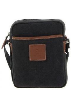 Sac Bandouliere Texier Sac porté travers en cuir de vachette et coton(115482871)