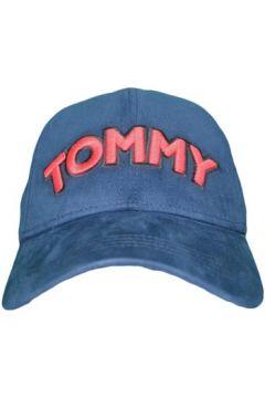 Casquette Tommy Hilfiger Casquette Tommy Jeans bleu marine logo rouge pour femme(88614001)