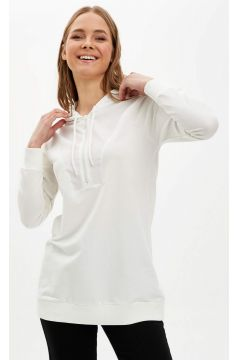 DeFacto Kadın Kapüşonlu Basic Tunik(119064181)