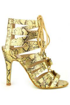 Sandales Cendriyon Sandales Doré Chaussures Femme(115424835)