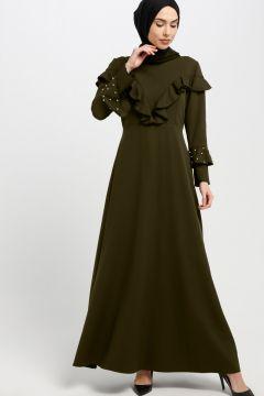 Robe SomFashion Vert / Kaki(102893056)
