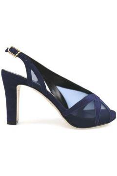 Sandales Guido Sgariglia sandales bleu daim textile ap800(115443197)