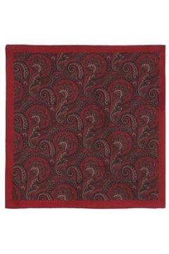 Lardini Erkek Kırmızı Etnik Desenli Yün Fular EU(120084185)