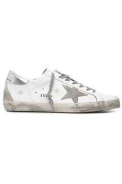 Golden Goose Erkek Gri Beyaz Deri Sneaker 40 EU(119785728)