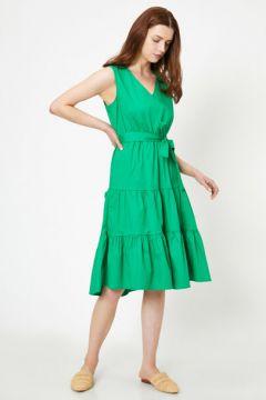 Koton Kadın Beli Baglamali Elbise(113415182)