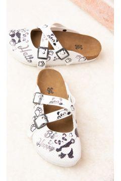 Pantoufles Fox Shoes Blanc(127842858)