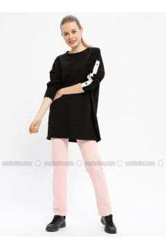 Pink - Cotton - Tracksuit Bottom - Tommy Life(110334251)