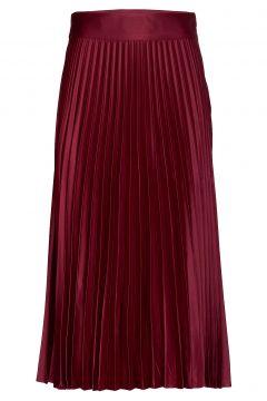 Cleo Skirt Knielanges Kleid Rot TWIST & TANGO(99162043)