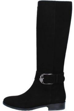 Bottes Del Gatto bottes noir daim AK939(98485678)