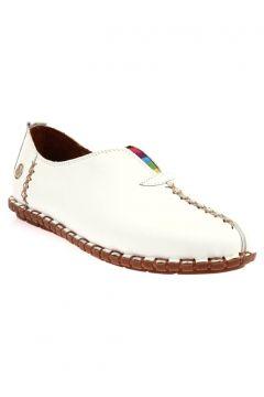 Messimod Beyaz Kadın Ayakkabı(123523351)