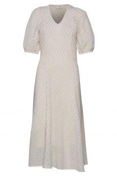 Lr-Kiwi Kleid Knielang Weiß LEVETE ROOM(119523887)