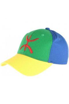Casquette Pays Casquette berbere drapeau bleu vert jaune amazigh(119082953)