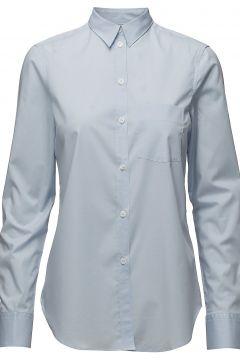 Classic Stretch Shirt Langärmliges Hemd Blau FILIPPA K(116365685)