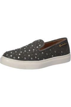 Chaussures Braccialini slip on gris textile strass AE539(115399505)