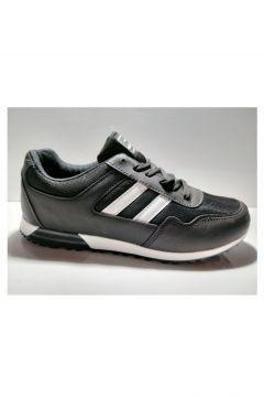 Laguna Siyah Fileli Erkek Spor Ayakkabı(110941543)