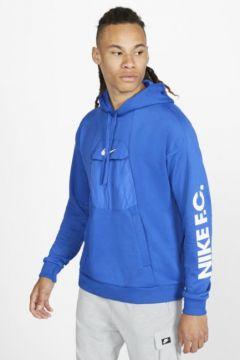 Nike F.C. Kapüşonlu Erkek Futbol Sweatshirt\'ü(113782044)