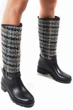 Sapin Kadın Siyah Yağmur Çizmesi 33000(124982804)
