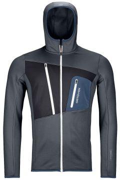 Ortovox Grid Hooded Fleece Jacket zwart(123262964)