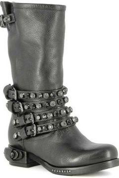 Bottes Mimmu Mi-Bottes en cuir à bijoux(115404927)