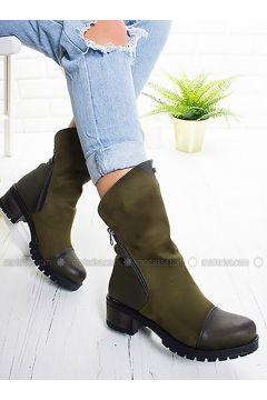 Khaki - Boot - Boots - Ayakkabı Frekansı(110335025)