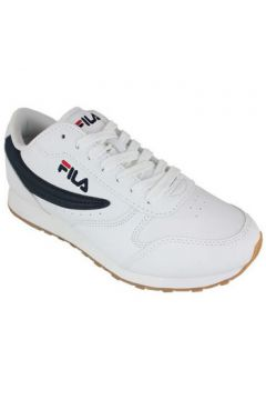 Chaussures Fila orbit low white/dress blue(101667584)