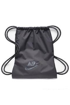 Nike Erkek Heritage 2 0 Siyah Büzgülü Sırt Çantası EU(113466425)