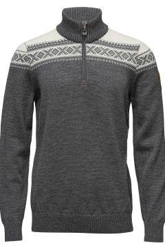 Cortina Merino Masc Sweater Knitwear Half Zip Jumpers Grau DALE OF NORWAY(114156856)