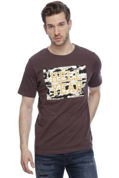 Jack & Jones Bordo T-Shırt(113958464)