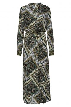 Pzlemon Dress Kleid Knielang Grün PULZ JEANS(114163266)