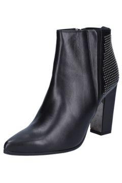 Chaussures escarpins Roberto Botticelli escarpins noir cuir clous BY558(115476338)