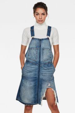 G-Star RAW Women Lintell Dnm Overall Dress Medium blue(117927261)