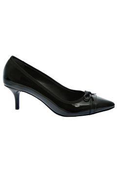 Fabrika Rugan Siyah Topuklu Ayakkabı(113953614)