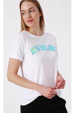 New Balance WTT1923 Beyaz Kadın T-Shirt(123481933)