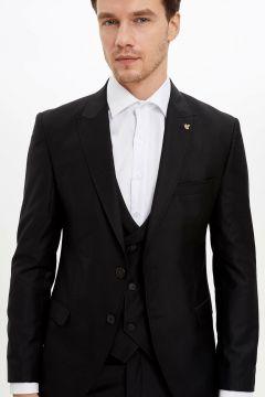 DeFacto Erkek Slim Fit Blazer Ceket(108641881)