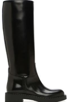 Prada Kadın Siyah Deri Çizme 36 EU(122382332)